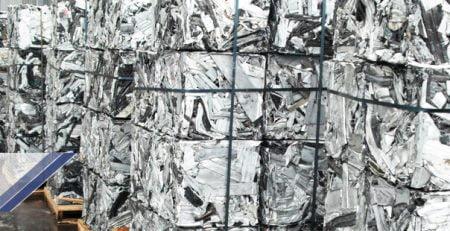 بیلت و ضایعات آلومینیوم
