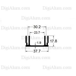 هیت سینک آلومینیوم Hs11