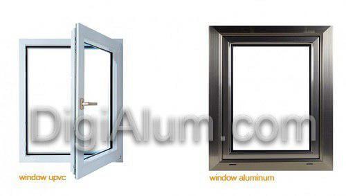 مقایسه پنجره آلومینیوم با پنجره UPVC