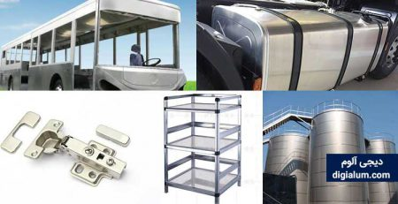 کاربردهای آلومینیوم در صنعت