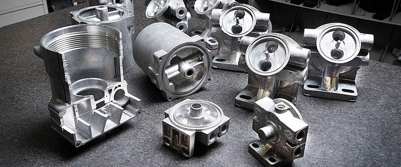 تولید بعضی از قطعات خودرو با روش ریخته گری آلومینیوم