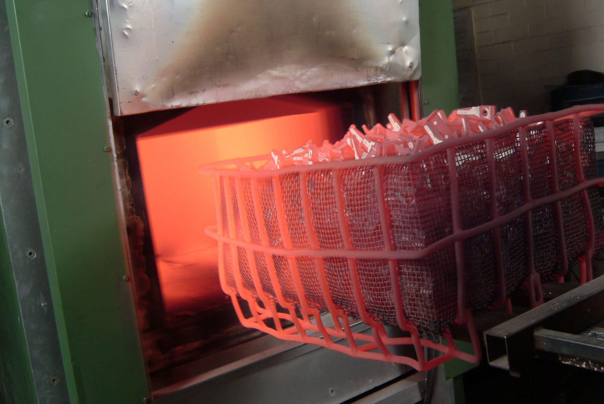 عملیات حرارتی آلیاژ آلومینیوم