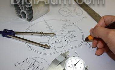طراحی پروفیل آلومینیوم