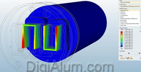 نرم افزار شبیه سازی قالب اکستروژن