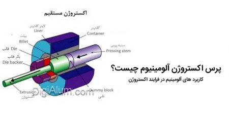 پرس اکستروژن آلومینیوم